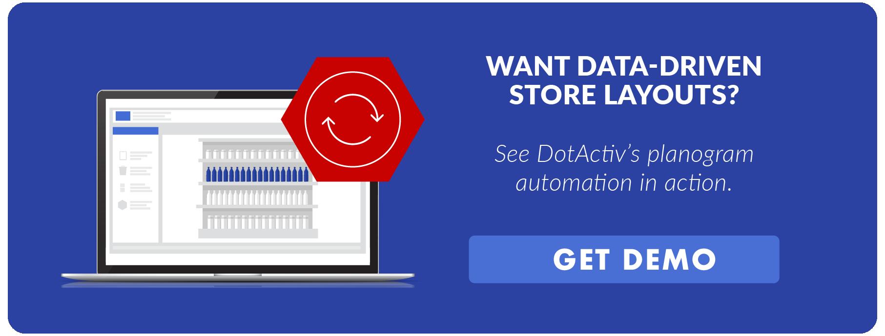 CTA-Data Driven Store Layouts