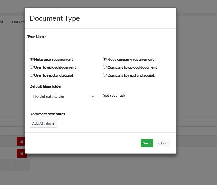 Customising Document Type - Activ8