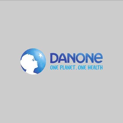 Danone logo testimonial