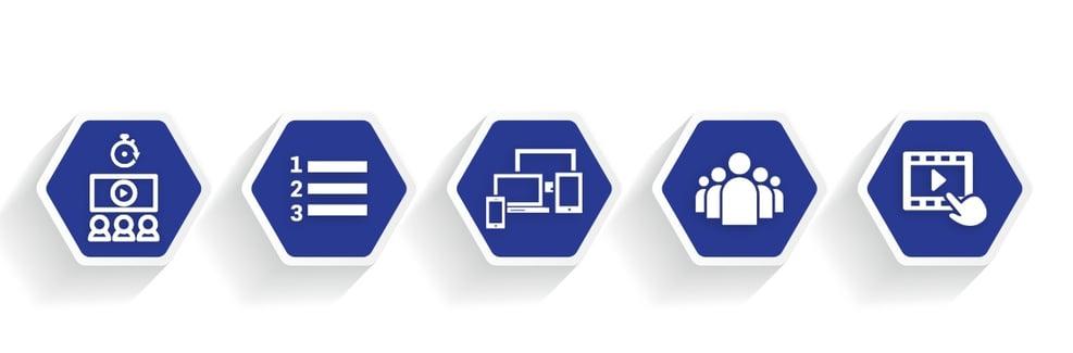 DotActiv Academy Blue Icon Banner