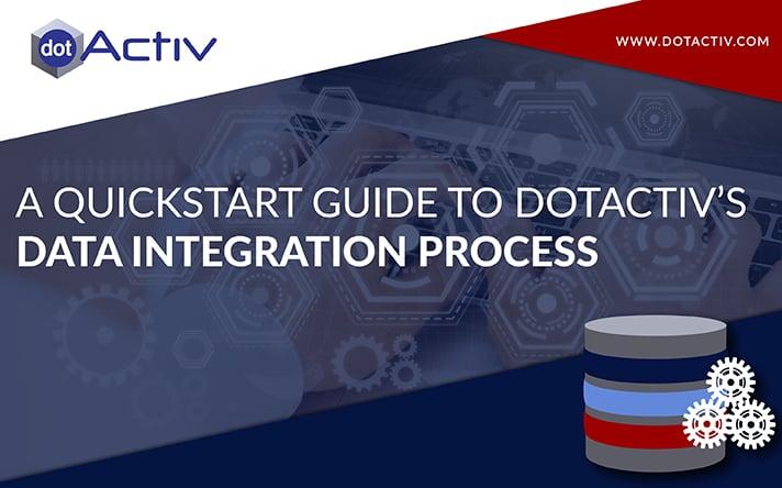 DotActiv Data Integration Process