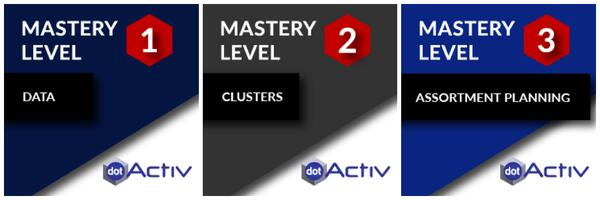 DotActiv Software Mastery Levels 1 to 3
