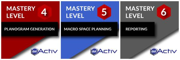 DotActiv Software Mastery Levels 4 to 6