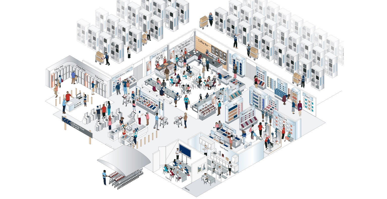 Perfect Store Floor Plan