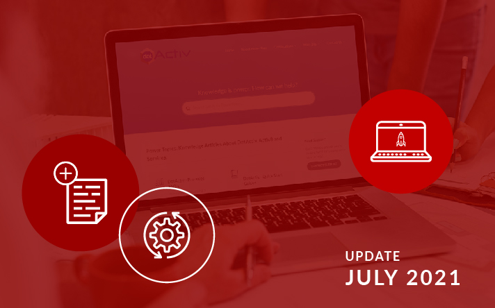 PowerBase Updates For July 2021