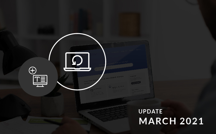 PowerBase Updates For March 2021