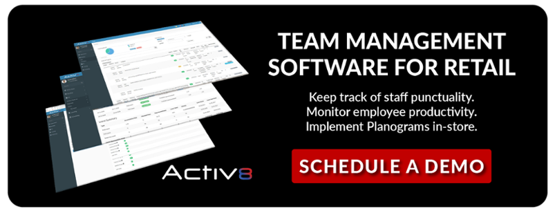Activ8 - Team Management Software for Retail
