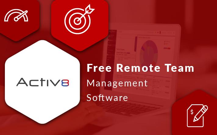Activ8 Free Remote Team Management Software