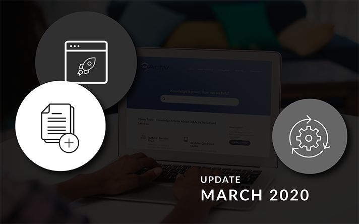 PowerBase Updates For March 2020: What's New and Updated