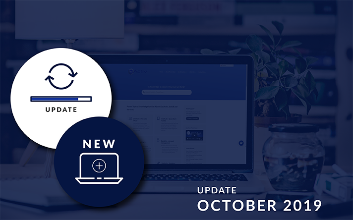 PowerBase Updates For October 2019: What's New and Updated?